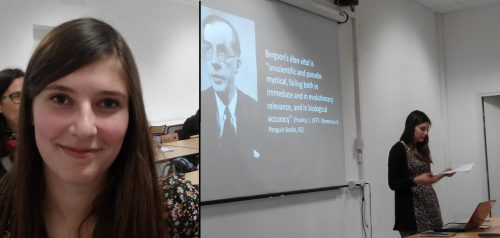 L'ambassadrice de la British Society for the History of Science, Emily Herring (University of Leeds)